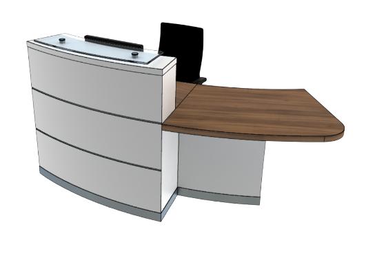 Eclypse Reception Desks YB1-L