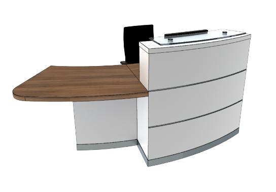 Eclypse Reception Desks YB1-R
