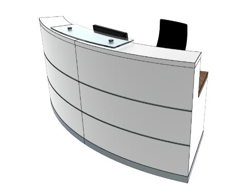 Eclypse Reception Desks YB1