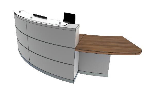 Eclypse Reception Desks YB2-L