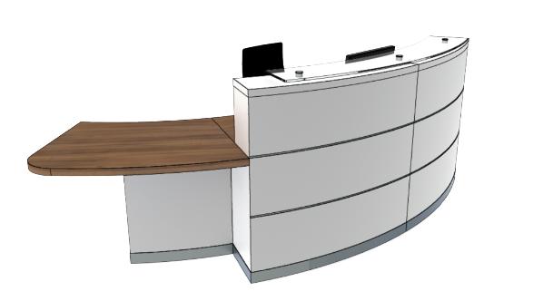 Eclypse Reception Desks YB2-R