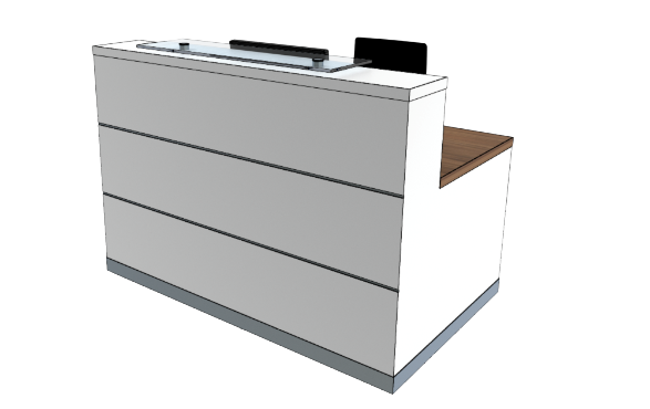 Eclypse Reception Desks YC Compact
