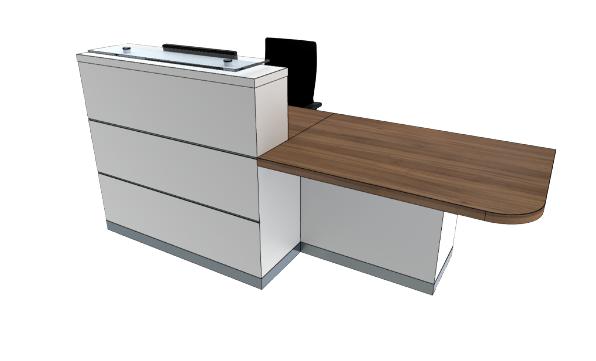 Eclypse Reception Desks YC1-L