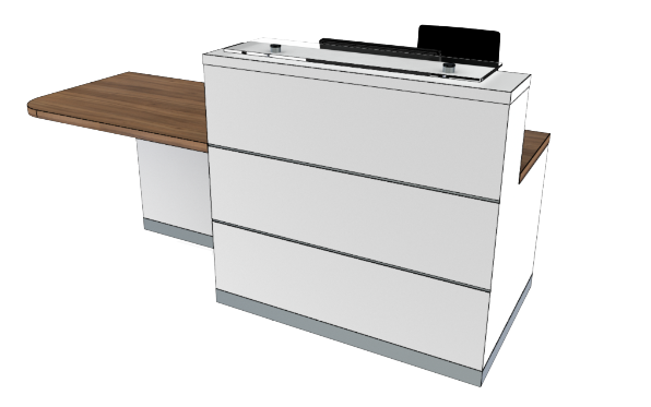 Eclypse Reception Desks YC1-R