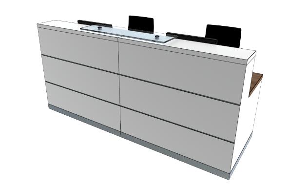 Eclypse Reception Desks YC1