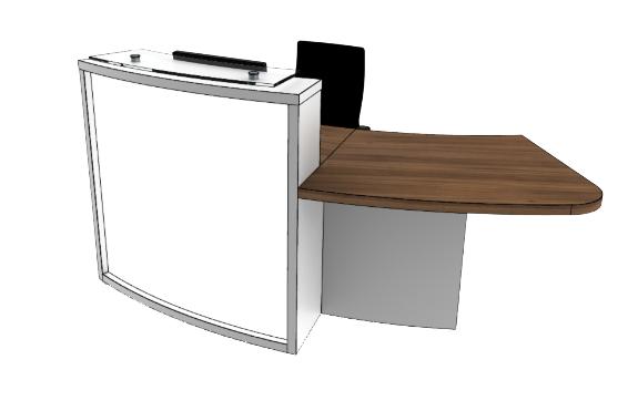 Light Reception Desk LB1-L