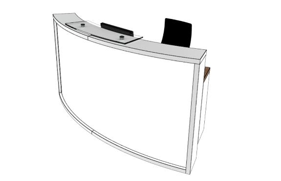 Light Reception Desk LB1