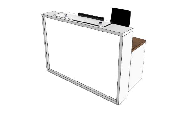 Light Reception Desk LC COMPACT