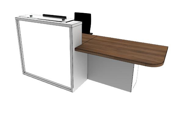 Light Reception Desk LC1-L