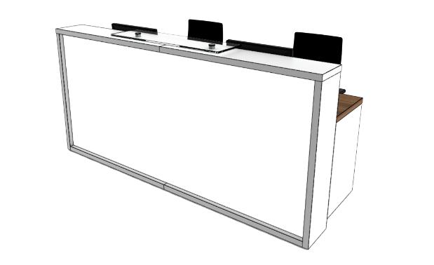 Light Reception Desk LC1