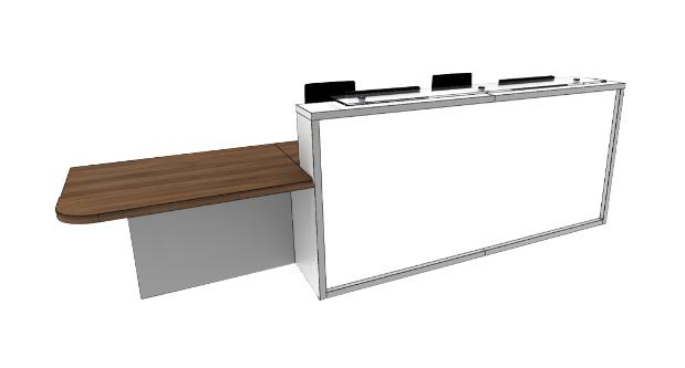 Light Reception Desk Models - LC2-R