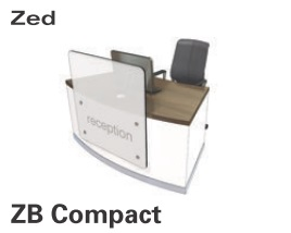 Zed Reception Desk ZB Compact