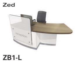 Zed Reception Desk ZB1-L