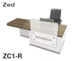 Zed Reception Desk ZC1-R