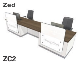 Zed Reception Desk ZC2