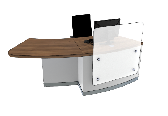 Zed Reception Desk ZB1-R