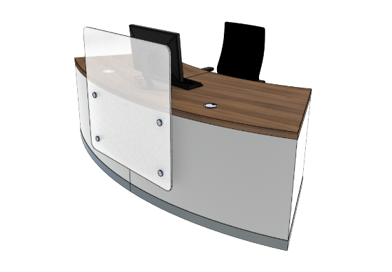 Zed Reception Desk ZB1