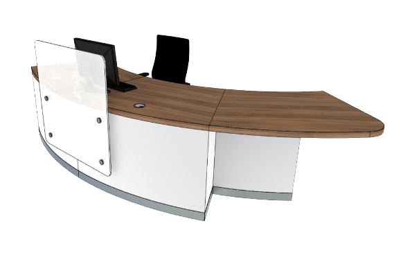 Zed Reception Desk ZB2-L