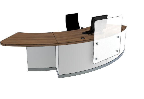 Zed Reception Desk ZB2-R