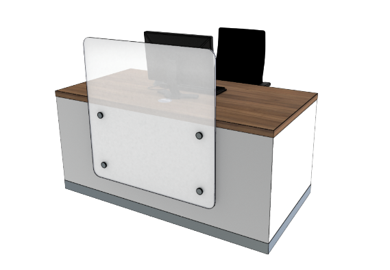 Zed Reception Desk ZC Compact