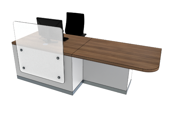 Zed Reception Desk ZC1-L