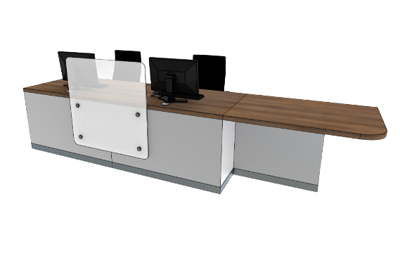 Zed Reception Desk ZC2-L
