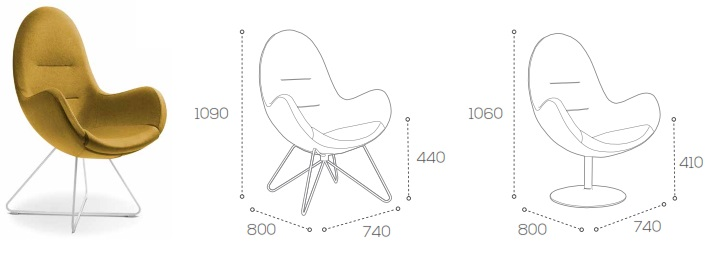 Columbus Soft Seating Dimensions