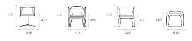 Crown Soft Seating Dimensions
