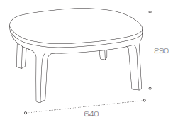 Dixi Chair Dimensions