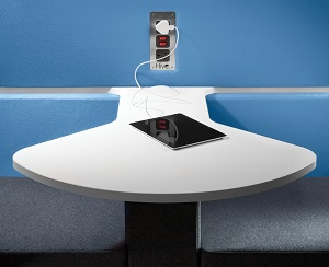 Hive Accessories - Integrated Fan Shaped Table