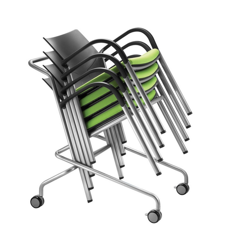 Is Visitor & Meeting Chair Trolley