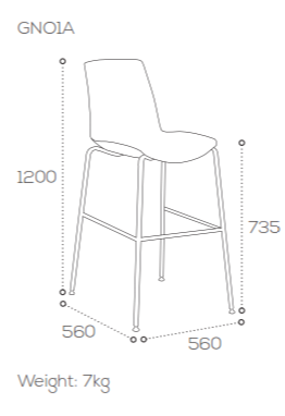 Ice Stool Dimensions