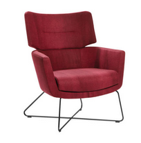 Kala Soft Seating - High back wire base