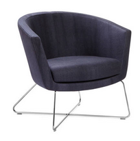 Kala Soft Seating - Low back wire base