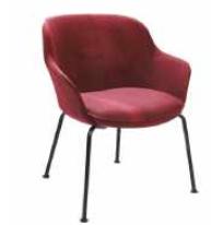 Rollie Chair - 4 Leg Metal Base