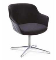 Rollie Chair - 4 Star Metal Base