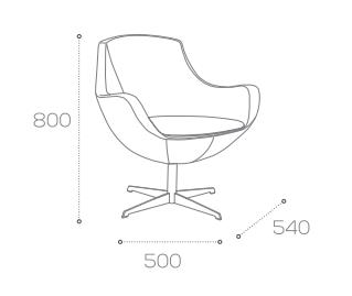 Smith Chair Dimensions