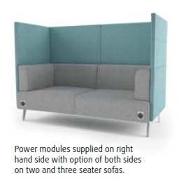 Thynk Soft Seating - Integrated Power Modules