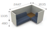 Tryst Soft Seating - STK38.39
