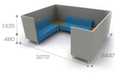 Tryst Soft Seating -  STK47