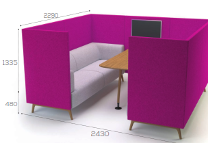 Tryst Soft Seating -  6 Seater STK9