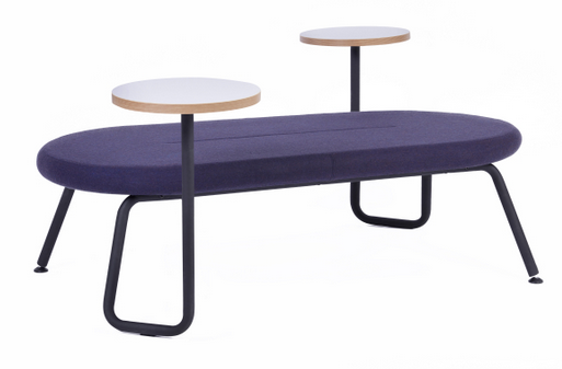 Tubes Breakout Furniture Image -  4 Leg Bench with WT