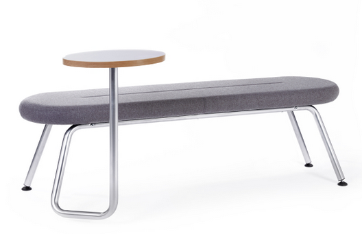 Tubes Breakout Furniture Image - Slim 4 Leg Bench with WT