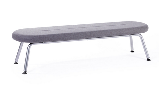 Tubes Breakout Furniture Image - Slim 4 Leg Bench