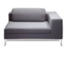 Zeus Soft Seating Models SZS4A