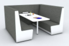 Luna Privacy Booth - 6 person 1200
