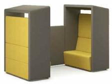 Fifteen four seat sofa pod unit - 15-E-P24