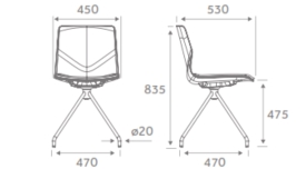 ForSure11 Conference Chair Dimensions