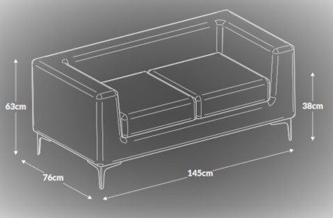 Box Sofa Dimensions