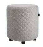 Drum Stool with Castors Image